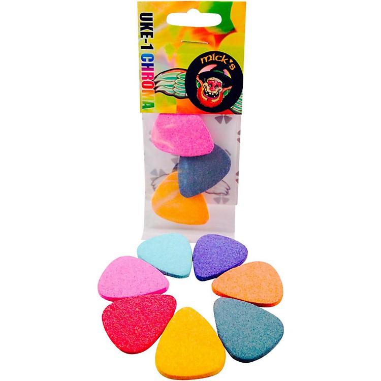 Mick's PicksUKE-1 Chroma Picks 3-Pack
