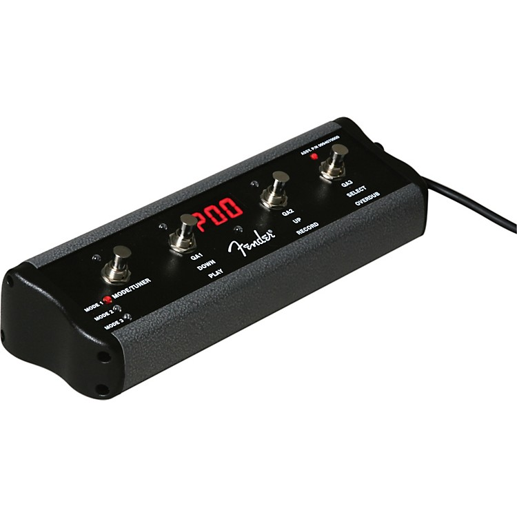 Fender ULT-4 4-Button Footswitch for G-Dec 30 and B-Dec 30