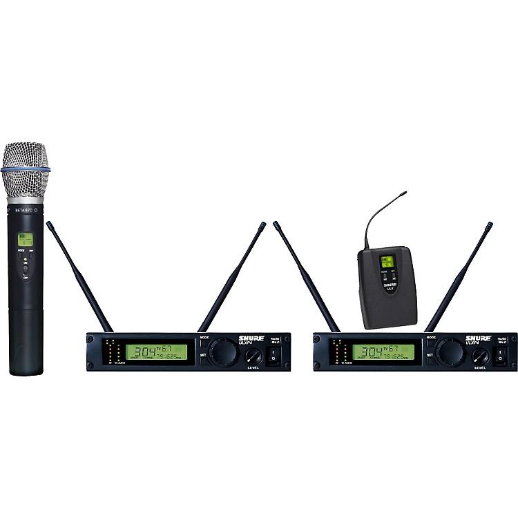 ShureULXP124/BETA87C Dual Channel Mixed Wireless SystemJ1