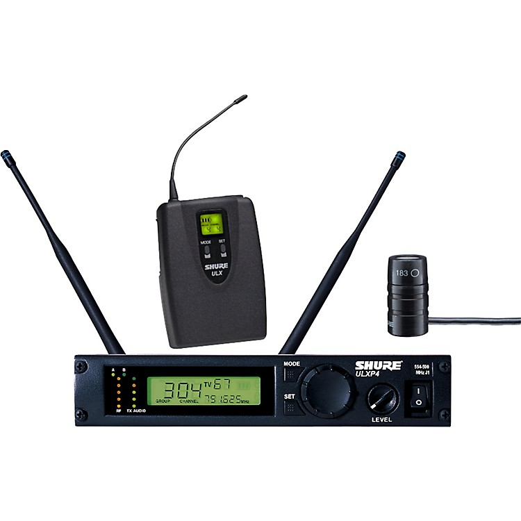 ShureULXP14/83 Lavalier Wireless Microphone SystemJ1