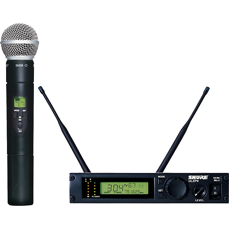 Shure ULXP24/58 Handheld Wireless Microphone System