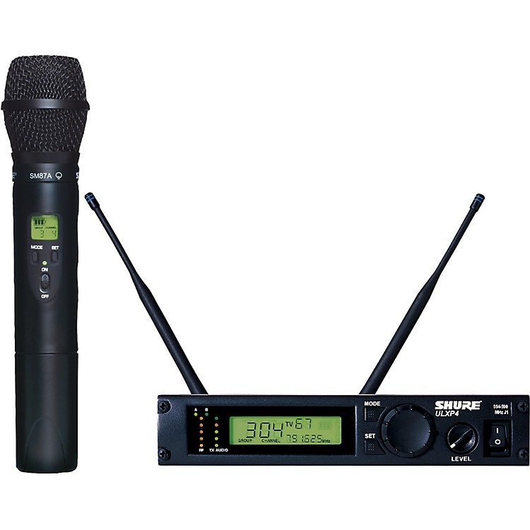 Shure ULXP24/87 Handheld Wireless Microphone System J1