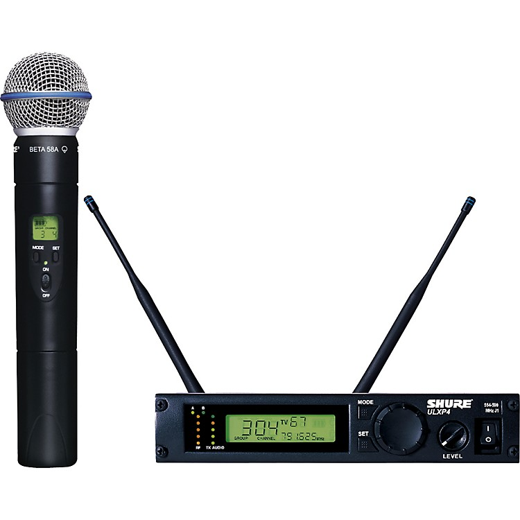 Shure ULXP24/BETA58 Handheld Wireless Microphone System M1