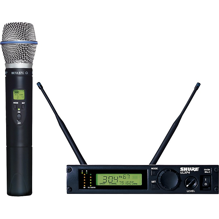 ShureULXP24/BETA87C Handheld Wireless Microphone SystemJ1