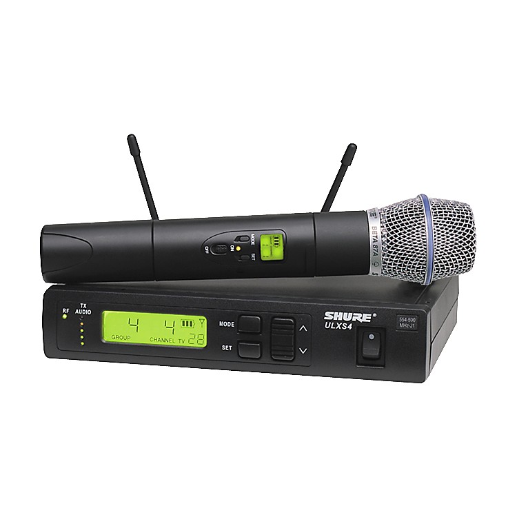 Shure ULXS Series/Beta 87A J1 Wireless Microphone System