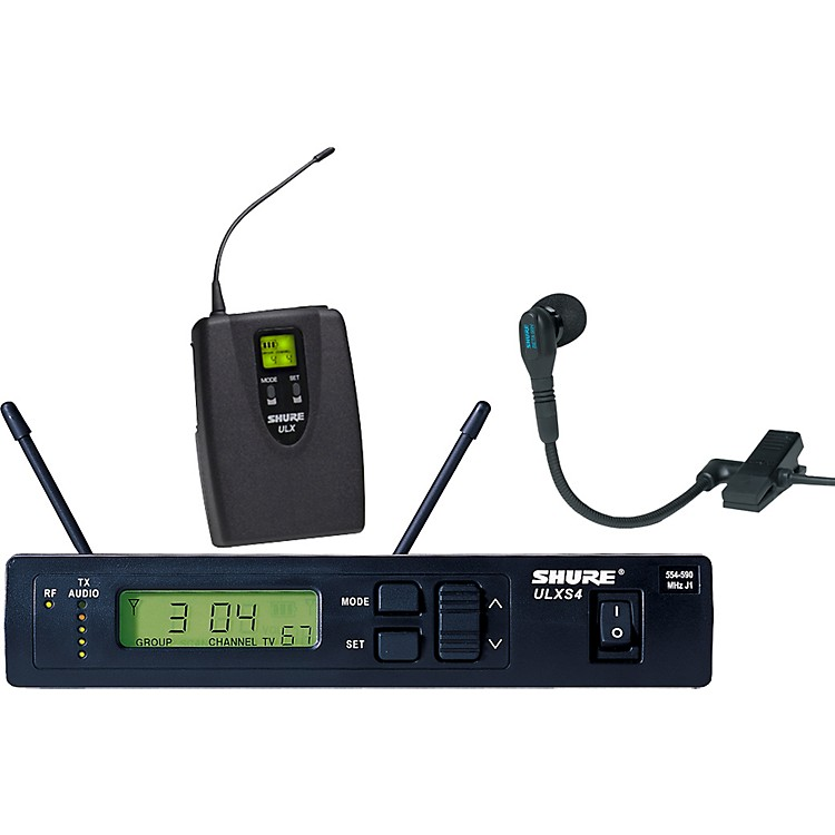 Shure ULXS14/98 Clip-On Wireless Instrument System