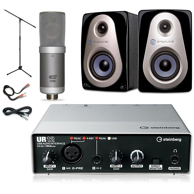 SteinbergUR12 MXL V250 Sterling Audio MX3 Package
