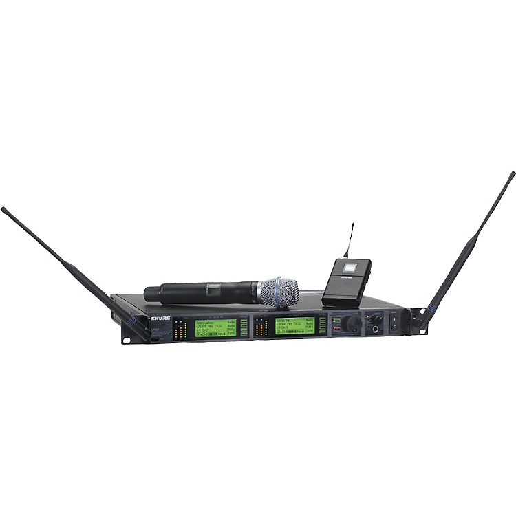 Shure UR124S/BETA87A Combo Wireless Instrument/Microphone System