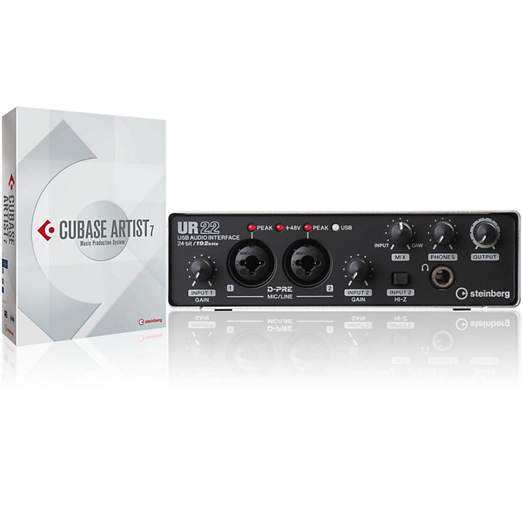 Steinberg UR22 USB2.0 Audio Interface Upgrade Cubase Artist 7 Upgrade 2