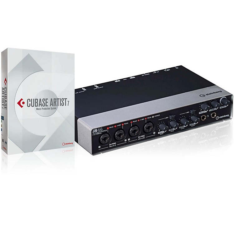 Steinberg UR44 USB Interface Cubase Artist 7 Upgrade 2