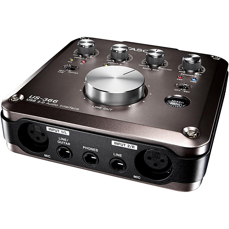 Tascam US-366 4X6 or 6X4 USB Audio Interface