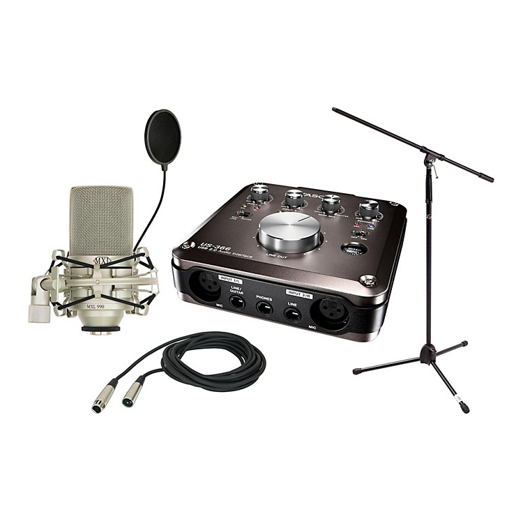 Tascam US-366 Package