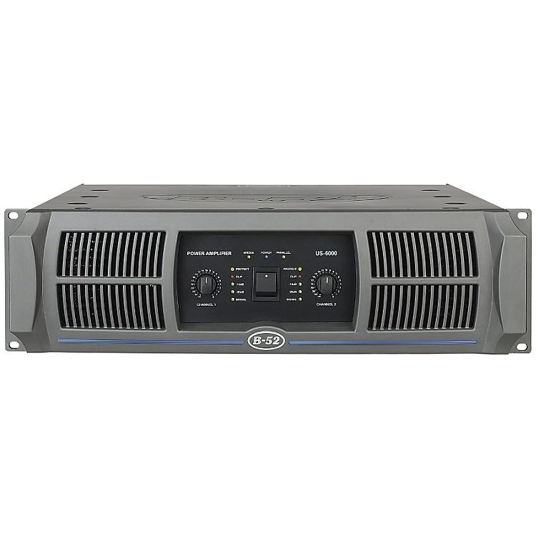 B-52US-6000 2-Channel 1150W Power Amplifier