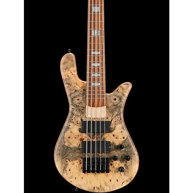 SpectorUSA NS-5H2-EX Buckeye Burl Top 5-String Bass GuitarBuckeye BurlNatural