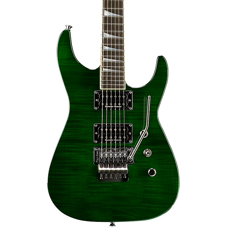 Jackson USA Select SL2H Soloist Electric Guitar Transparent Green