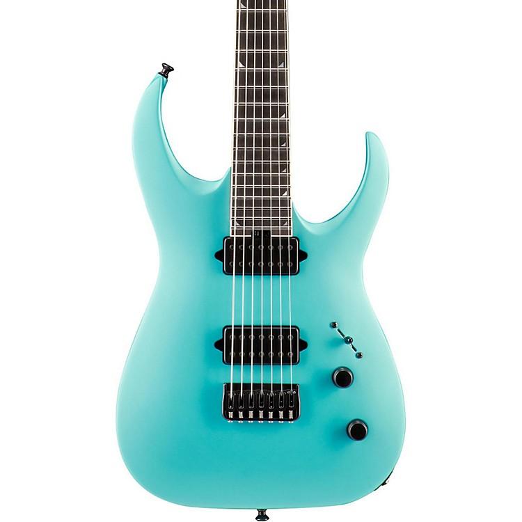 JacksonUSA Signature Model Misha Mansoor Juggernaut HT7 Electric GuitarMatte Blue Frost