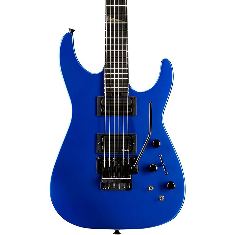 Jackson USA Signature Phil Collen PC1 Shred Electric Guitar Sapphire Blue