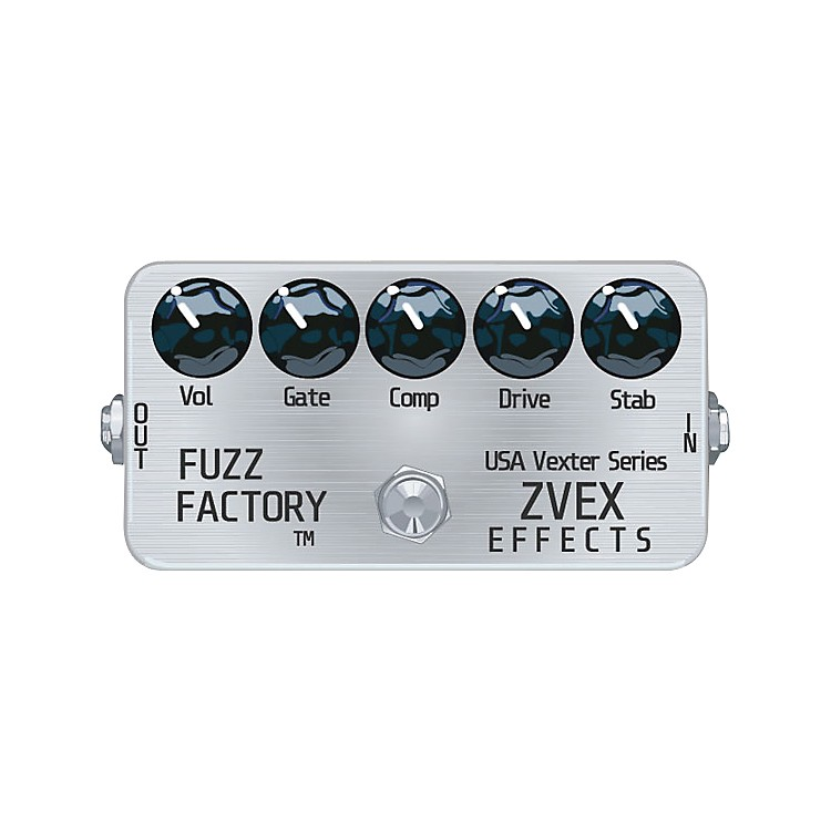 ZVex USA Vexter Fuzz Factory Guitar Effects Pedal