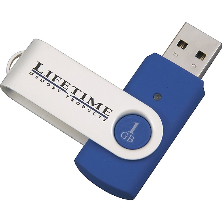 Lifetime Memory Products USB 2.0 QuickStick Swivel Flash Drive