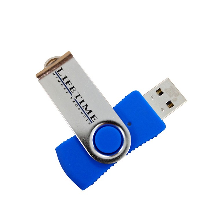 Lifetime Memory Products USB 2.0 QuickStick Swivel Flash Drive 16gb