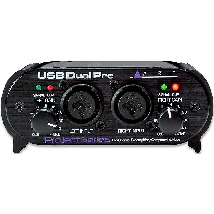 ART USB Dual Pre Two-Channel Preamp Restock