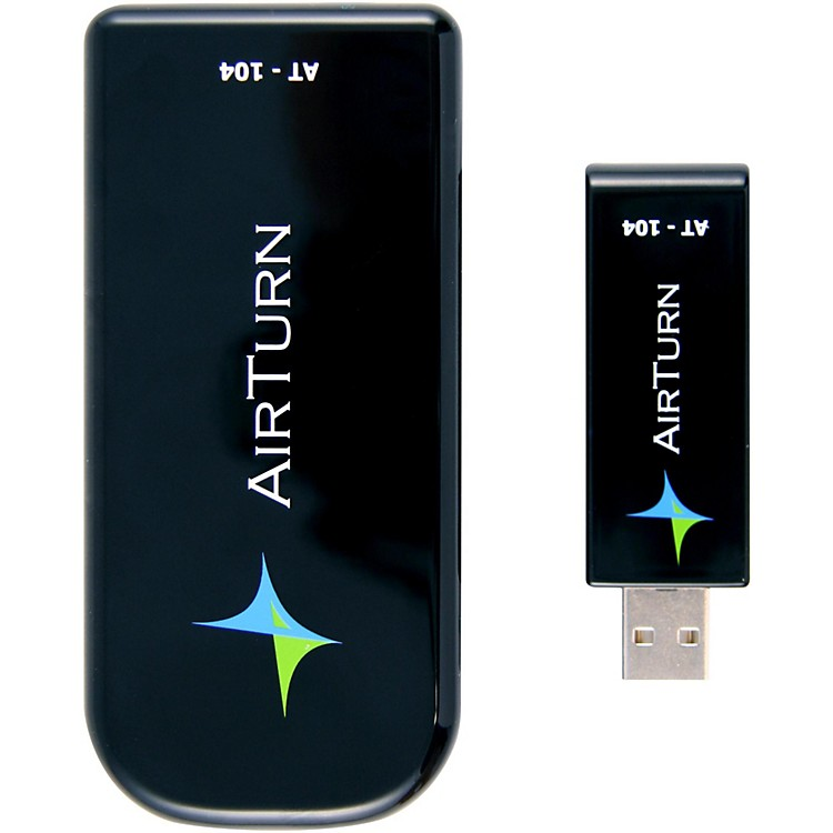 AirTurn USB Wireless AT-104 with 2 ATFS-2