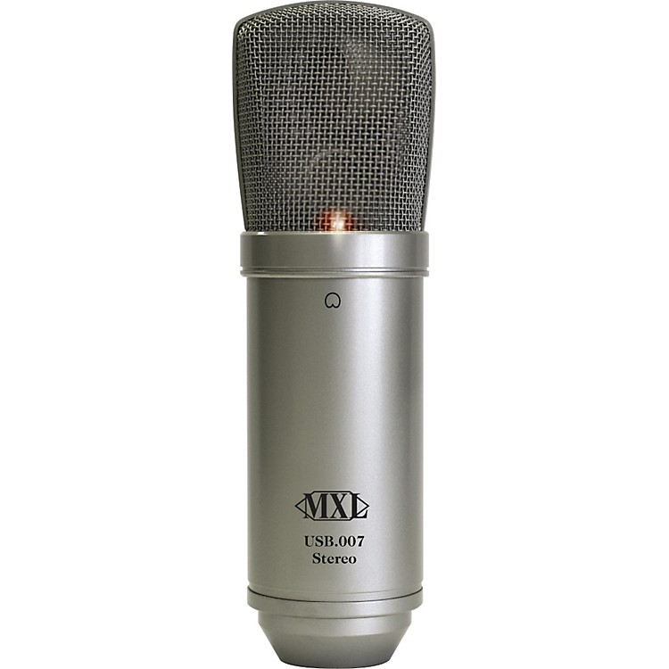 MXLUSB.007 Large Gold Diaphragm Stereo Condenser Microphone