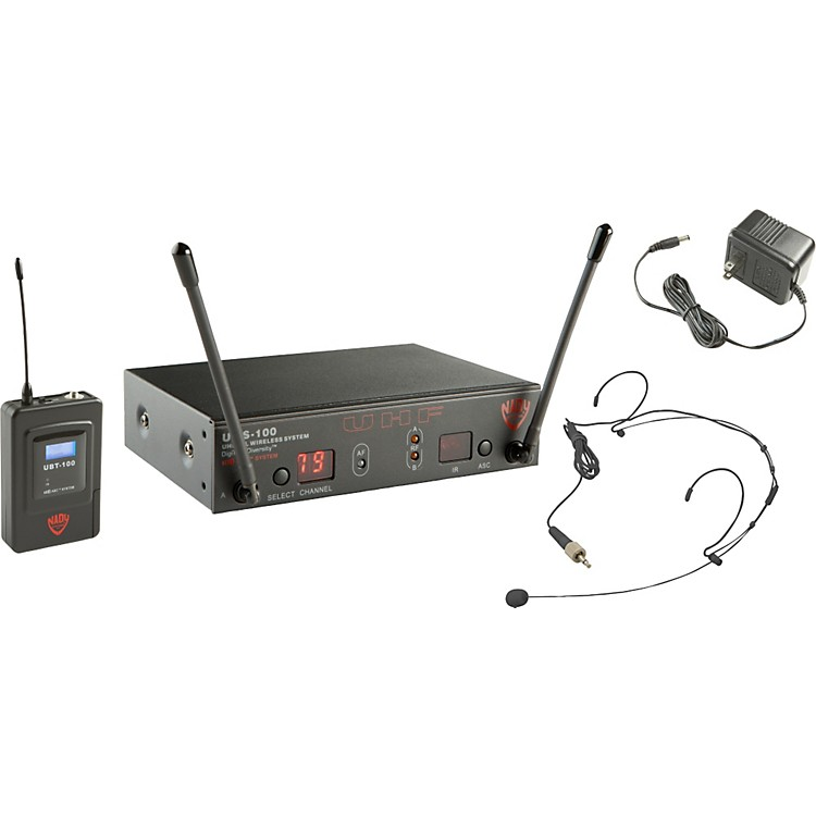 Nady UWS-100 HM-20U Headset Wireless System
