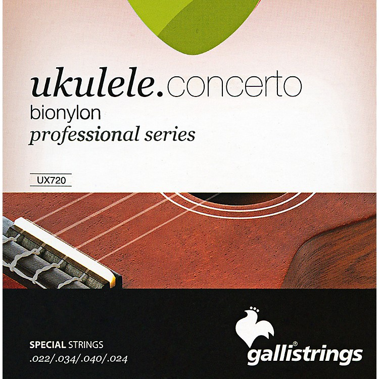 Galli StringsUX720 BIONYLON Concerto UKULELE Strings