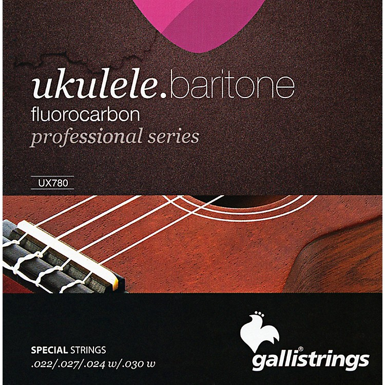 Galli Strings UX780 FLUOROCARBON Baritone UKULELE Strings
