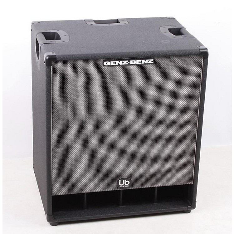 Genz Benz Uber Bass 600W 2x12 Bass Speaker Cabinet Black 886830938832