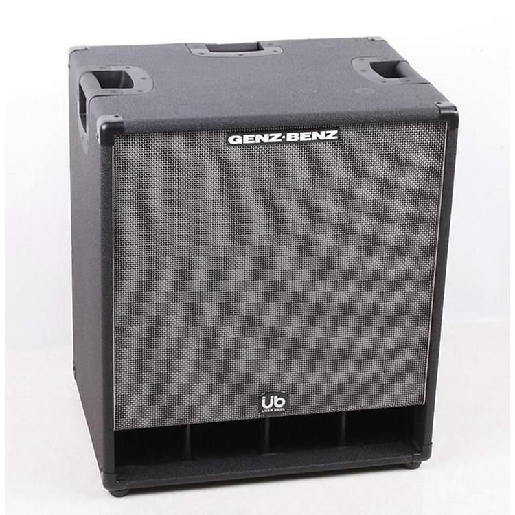 Genz BenzUber Bass 600W 2x12 Bass Speaker CabinetBlack886830938832