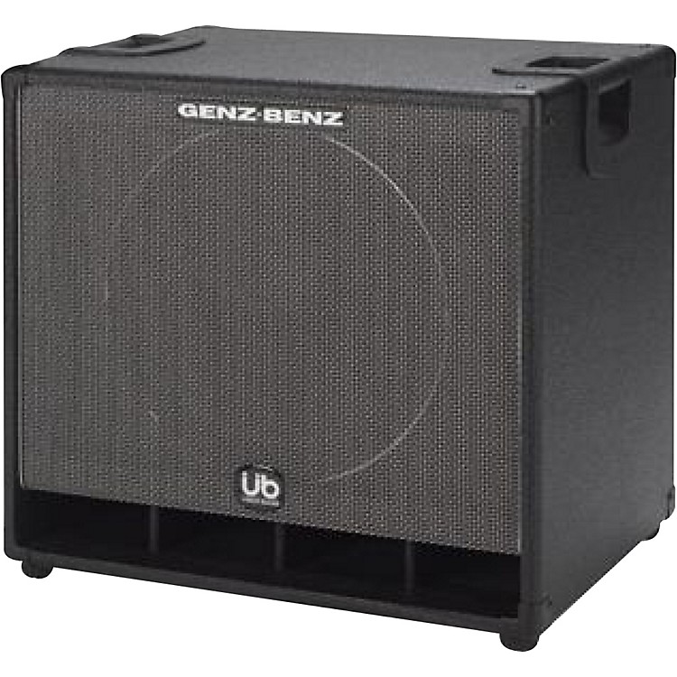 Genz Benz Uber Bass GB115T-UB 1x15 Bass Speaker Cabinet