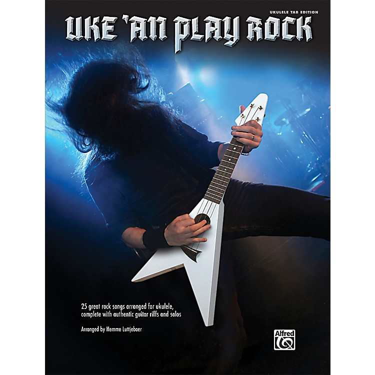 Alfred Uke 'An Play Rock for Ukulele Book