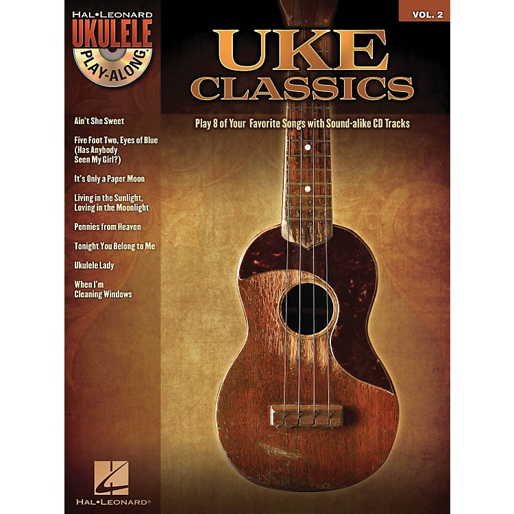 Hal Leonard Uke Classics - Ukulele Play-Along Series Volume 2 Book/CD