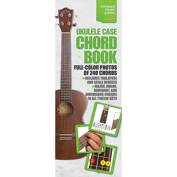 Music SalesUkulele Case Chord Book In Full Color - Compact Music Guide Series