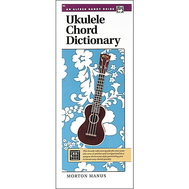AlfredUkulele Chord Dictionary