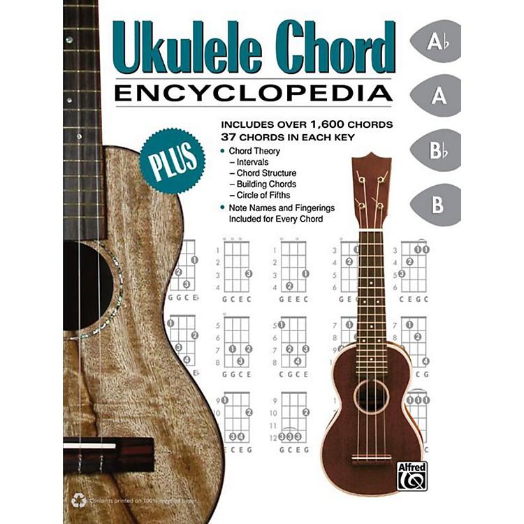 AlfredUkulele Chord Encyclopedia - Book
