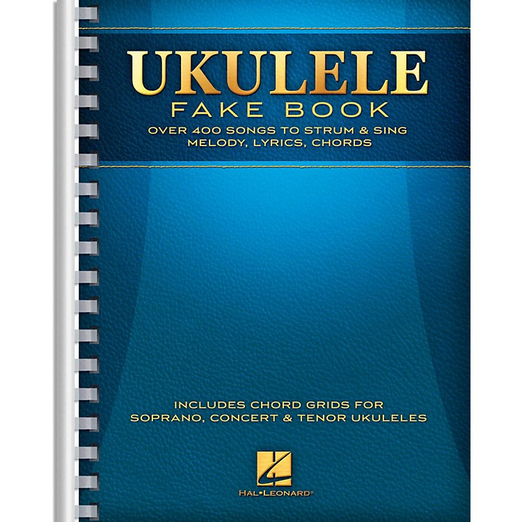 Hal Leonard Ukulele Fake Book - Full Size Edition