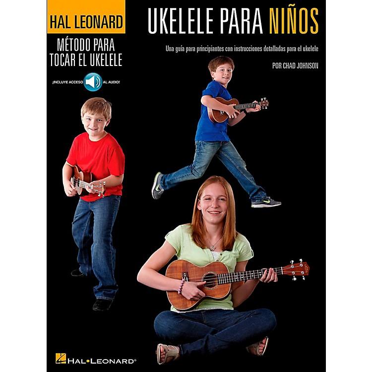 Hal LeonardUkulele For Kids (Spanish Edition) Hal Leonard Ukulele Method Series Book/Online Audio