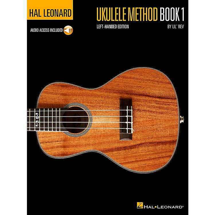 Hal LeonardUkulele Method Book 1  Left-Handed Edition Book/CD