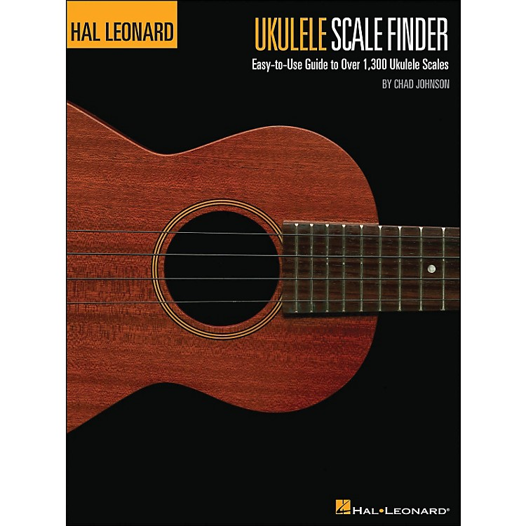 Hal Leonard Ukulele Scale Finder Book 9 X 12  Size