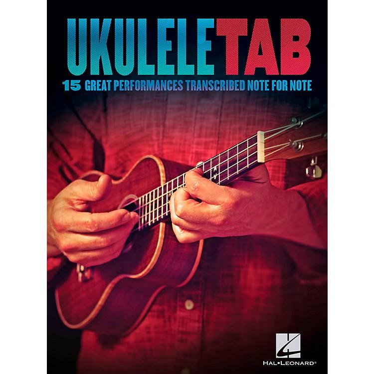 Hal LeonardUkulele Tab - 15 Great Performances Transcribed Note-For-Note