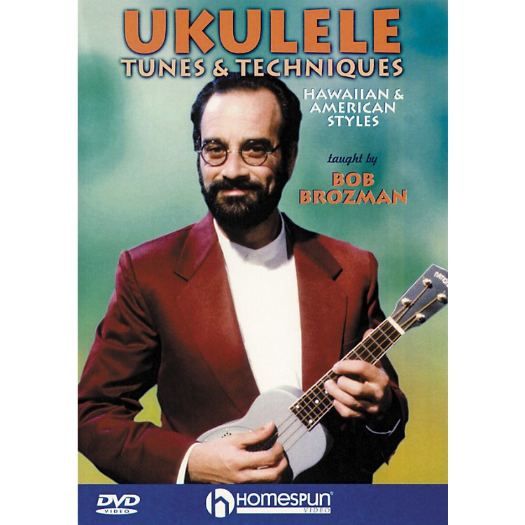 HomespunUkulele Tunes and Techniques (DVD)