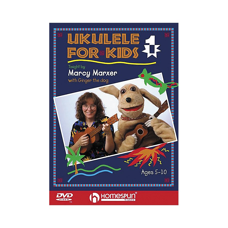 Homespun Ukulele for Kids - Lesson 1 (DVD)