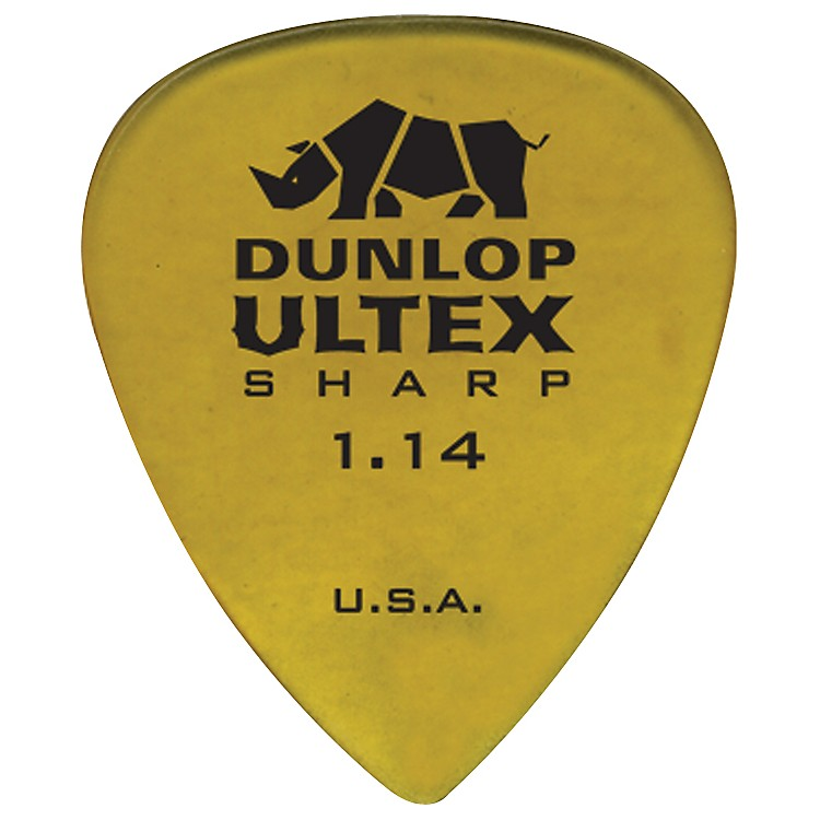 DunlopUltex Sharp Picks - 6 Pack1.14 mm