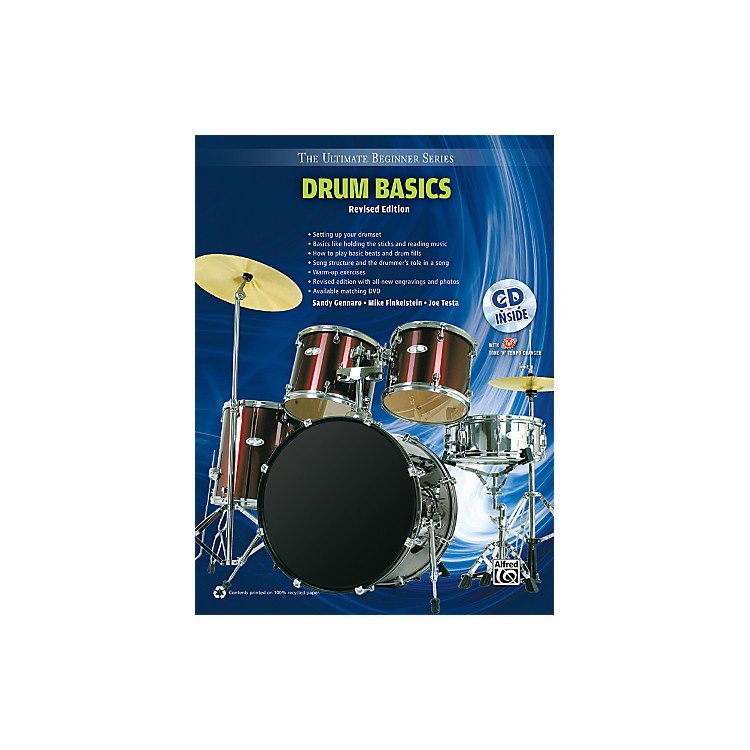 Alfred Ultimate Beginner Drum Basics (Revised Edition) Book & CD