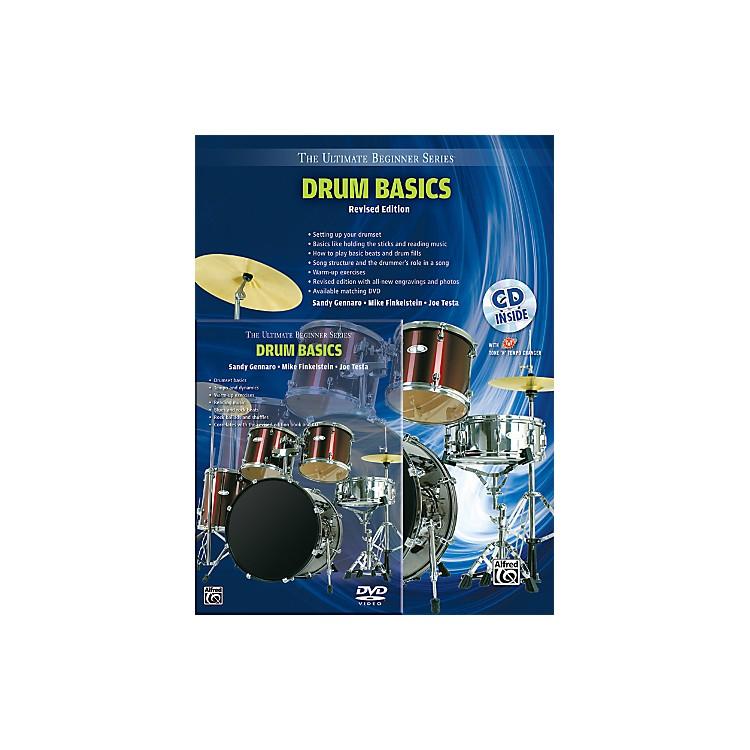 AlfredUltimate Beginner Mega Pak Drum Basics (Revised Ed.) Book, CD & DVD