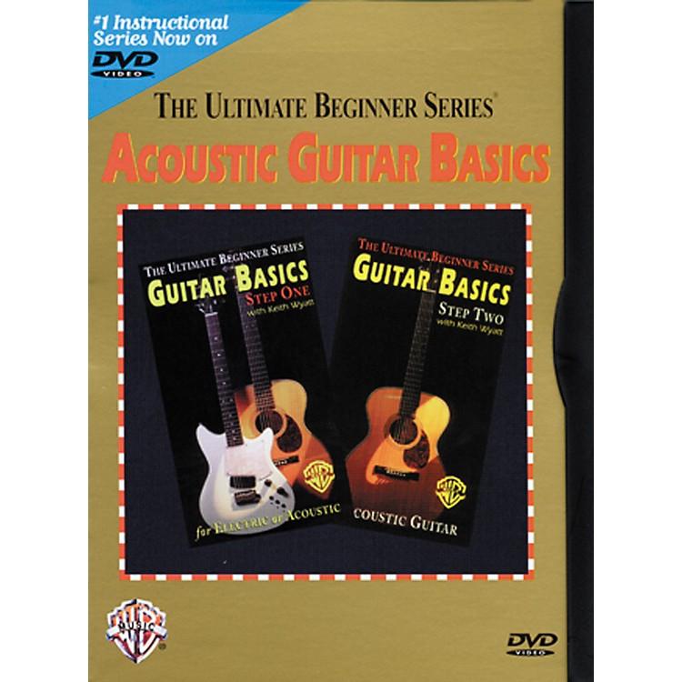 Warner BrosUltimate Beginner Series - Acoustic Guitar Basics (DVD)