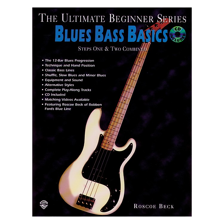 Alfred Ultimate Beginner Series - Blues Bass Basics Book/CD